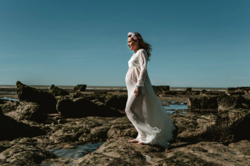 Book fotos embarazo Vane por Marcos Hughes Fotografía Trelew