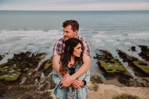 Sesión de fotos preboda en la playa de Noe y Fran por Marcos Hughes Fotógrafo