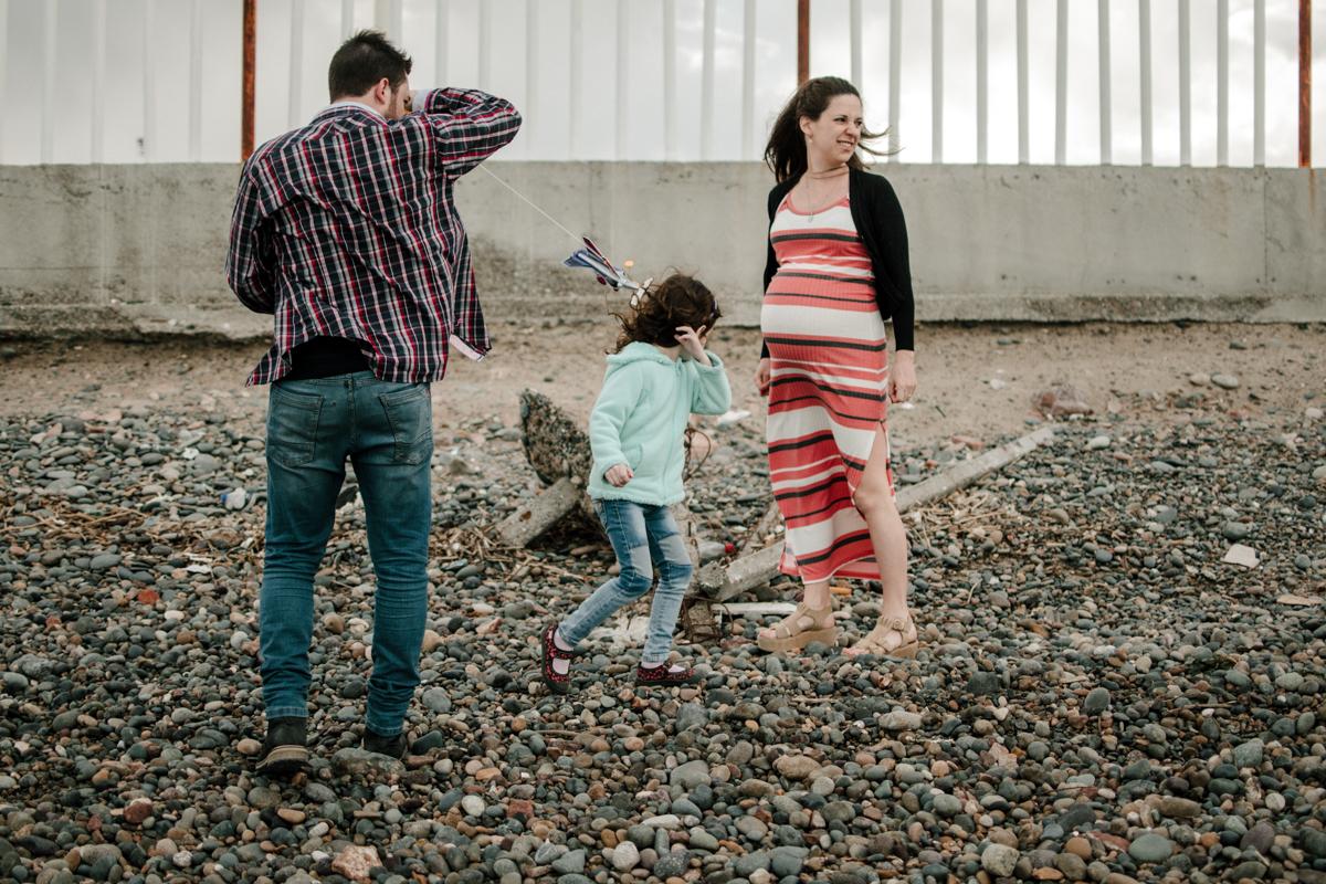 sesion familia en playa union chubut argentina marcos hughes